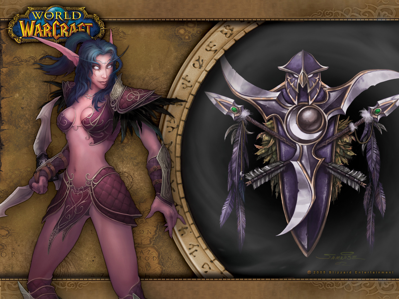 Cartoons of world of warcraft night elf  naked image
